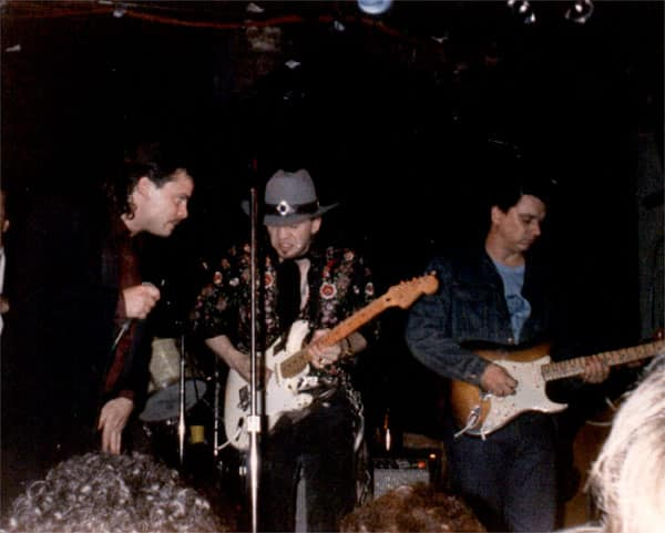 Curtis Salgado, Stevie Ray Vaughn and Jimmie Vaughn