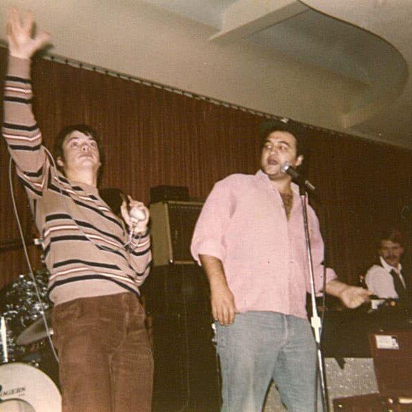 Curtis Salgado, John Belushi and DK Stewart